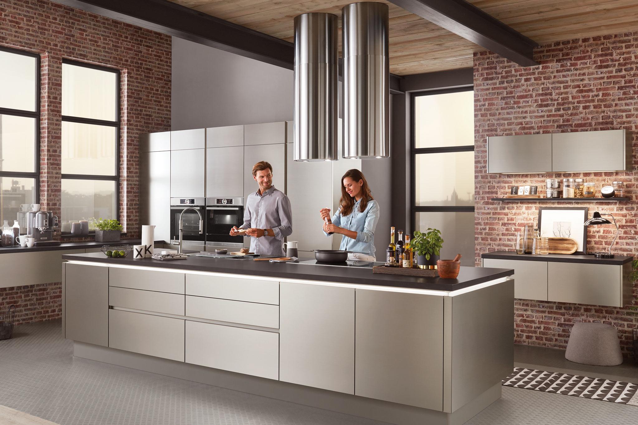 Inox Design Keukens : Inox küchentreff