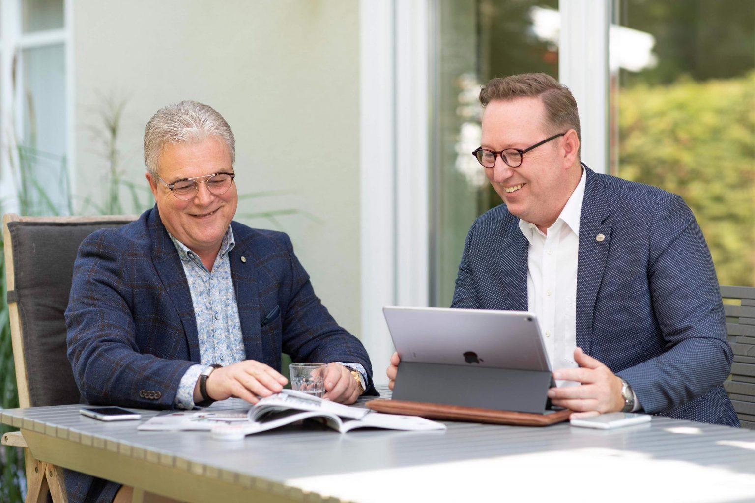 Peter en Wim, de oprichters van KüchenTreff Benelux